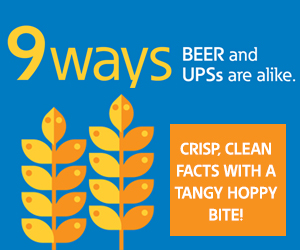 9 Ways Beer and UPSs are alike