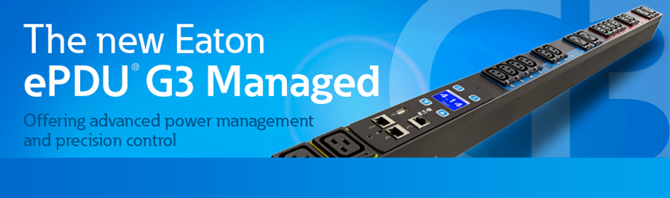The new Eaton ePDU G3 Platform