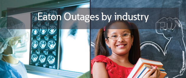 Power outages by industry