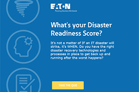 Disaster Recovery Rating - Take the Quiz