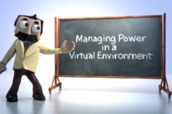 Managing Power In a Virtual Environment - Professor Wattson Video